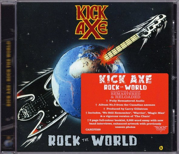 KICK AXE - Rock The World [Rock Candy remastered] (2016) full