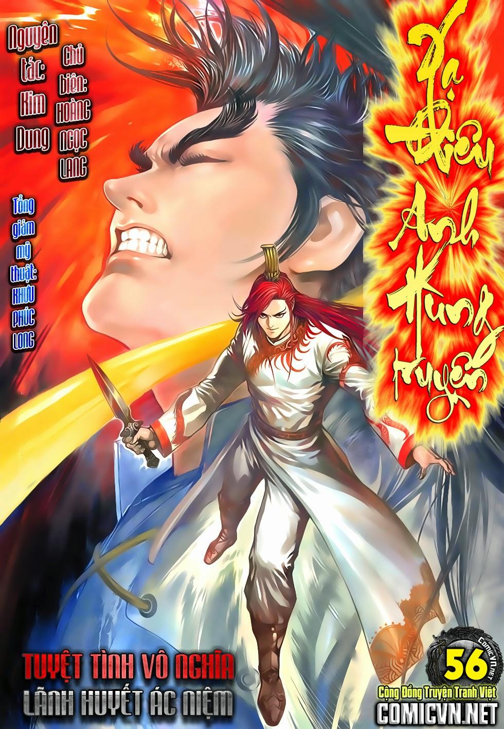Anh Hùng Xạ Điêu anh hùng xạ đêu chap 56: tuyệt tình vô nghĩa lãnh huyết ác niệm trang 1