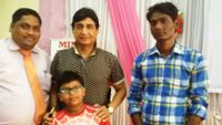 suresh raval, Dr Jitendra adhiya and Pratik