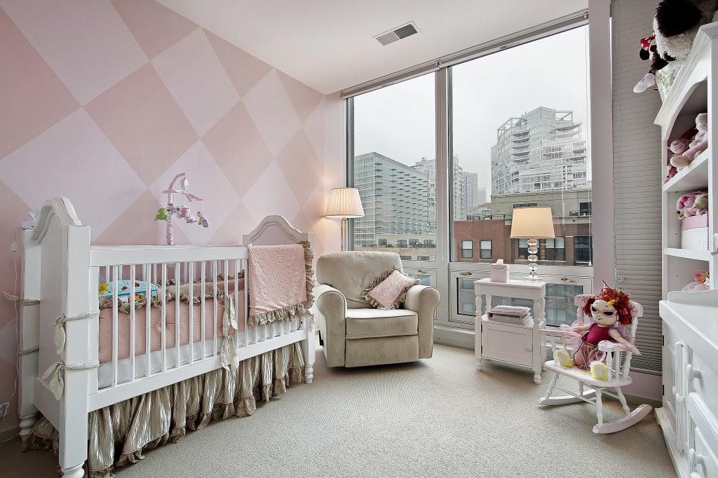 Dormitorios de beb en rosa y gris ideas para decorar for Habitacion bebe gris