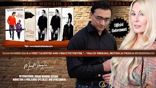 Tracey Ferrara, British Actress Endorses Mian Mohsin Zia