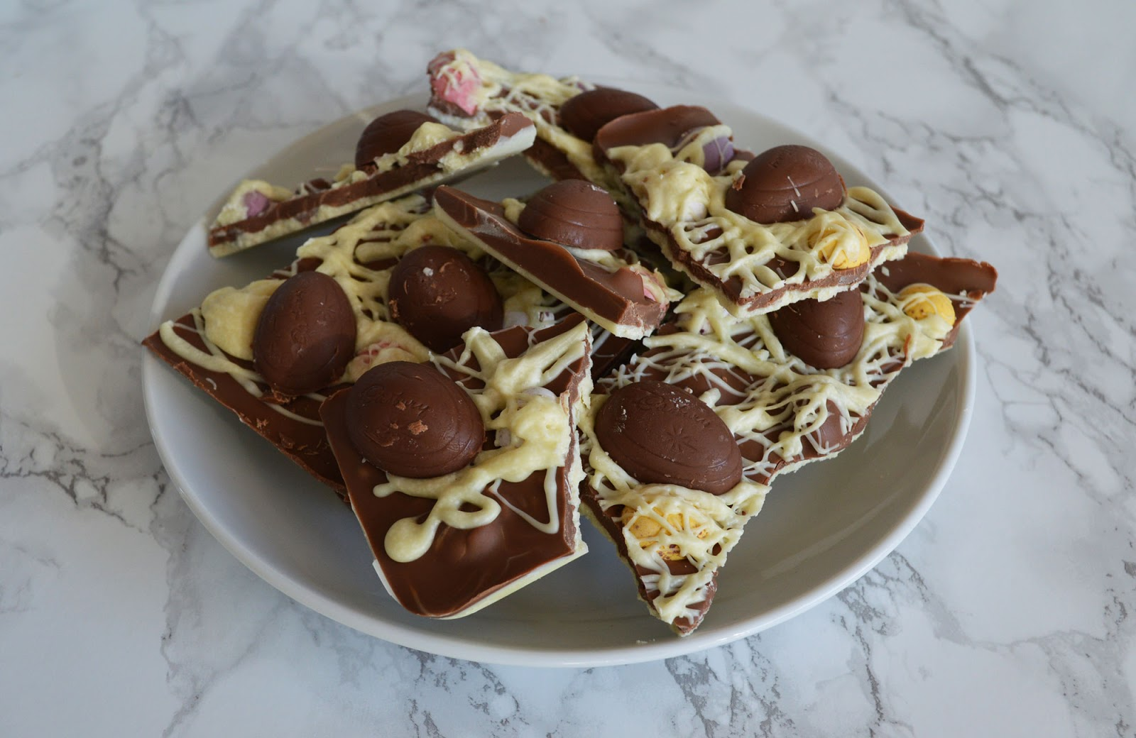 The Best Easter Chocolate Bark Recipe by Cranberry & Apricot