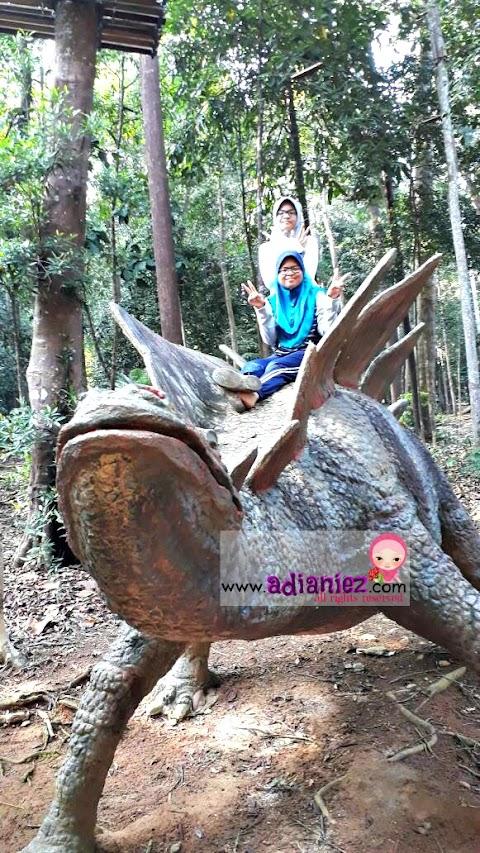 Riadah   Titi Gantung, Skytrex Adventure & Kembara Dinosaurs @ Taman Botanical, Ayer Keroh Melaka