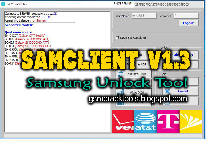 Samsung frp unlock tool pro gsm jony download