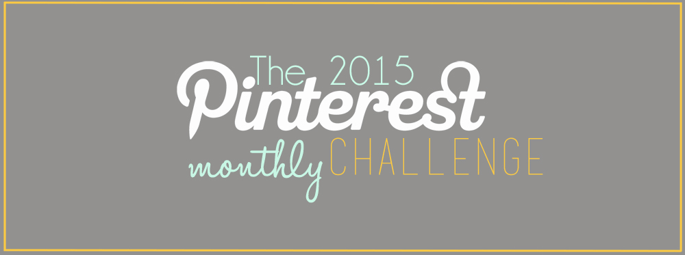 Pinterest Challenge January