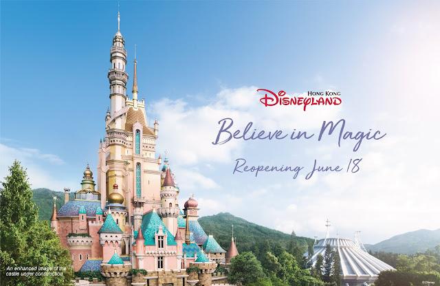 香港迪士尼樂園重開, 2020年6月18日星期四, Hong Kong Disneyland reopen, Jun18