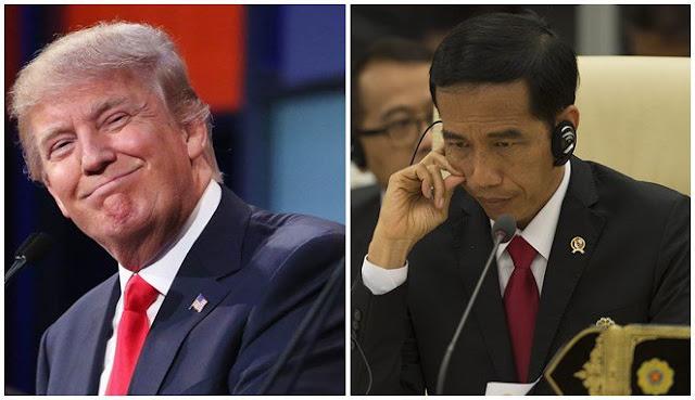 Jokowi Telepon Donald Trump, Inilah Isi Percakapannya!