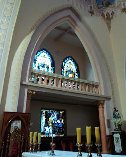Vitrais da Igreja Matriz de Santo  Antônio, em Frederico Westphalen