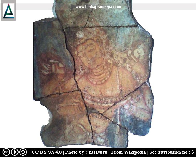 Lokapala from Mahiyangana Dagaba relic chamber