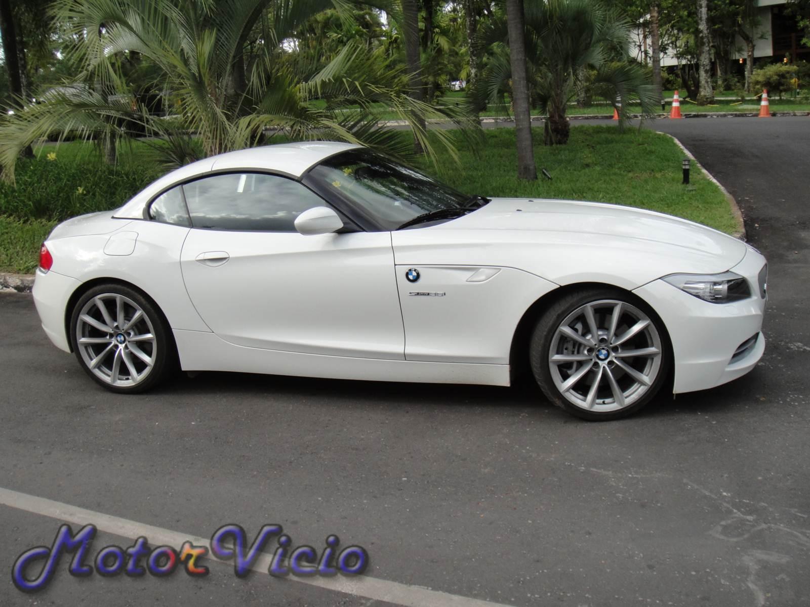 Bmw Z4 Branca 2012 Usada Tem Pre 231 O De R 205 000 Motor V 237 Cio