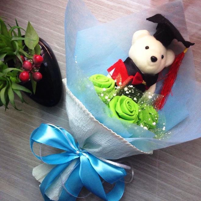 Paket Lengkap Buket Bunga Wisuda Cantik Dan Murah