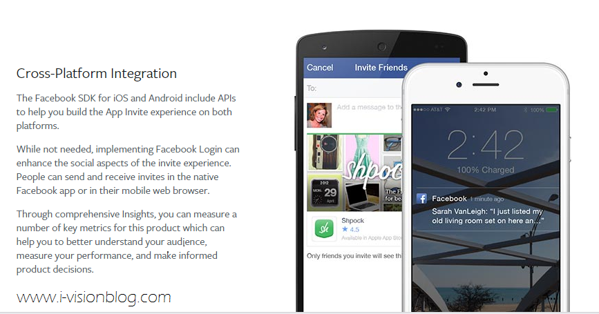 App Invites For Android Ios Apps Facebook Friends To