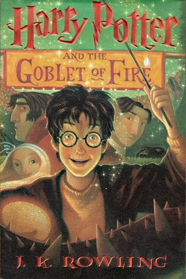 Harry Potter and the Goblet of Fire Book Release