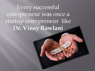 Dr. V Rawlani Entrepreneur