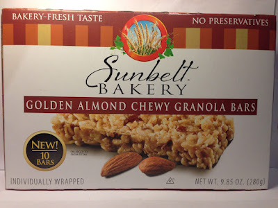 Crazy Food Dude Review Sunbelt Bakery Golden Almond