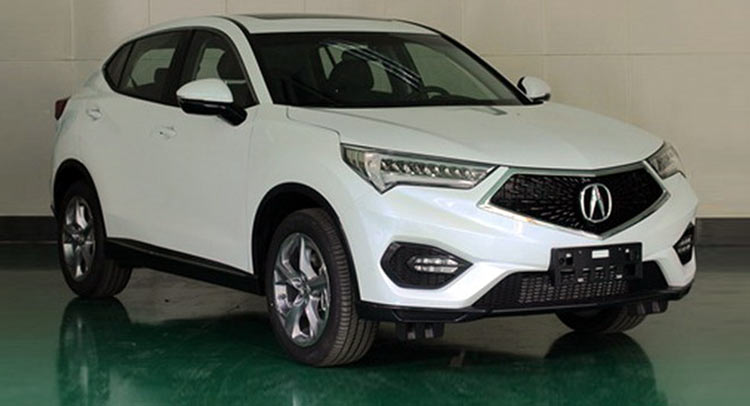 New Acura CDX Compact SUV Exposed In China, Rivals Mercedes GLA