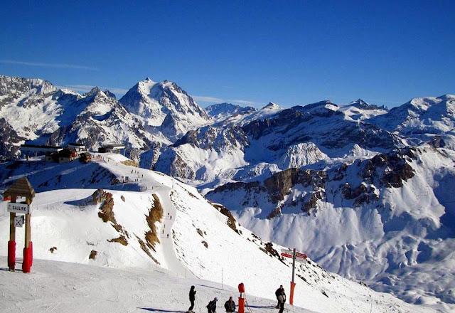 Estação de esqui de Chourchevel - França