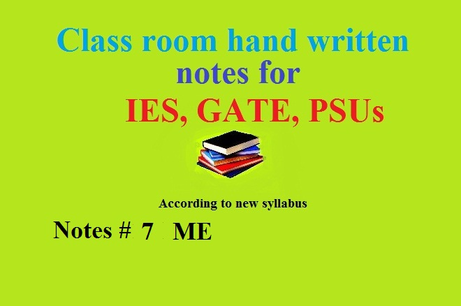 ACE New hand written class notes for GATE 2018 (ECE and EE) ~ Study