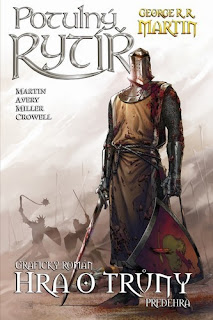 G.R.R. Martin Potulny rytiri - komiks predni strana