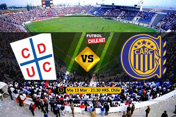 Mira Universidad Católica vs Rosario Central en vivo y online por la Fecha 2 del Grupo H de la Copa Libertadores