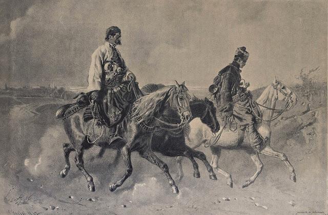 """Tatar Rista Predić i surdžija"" Karla Gebela, u galeriji ""Dar Mar"""