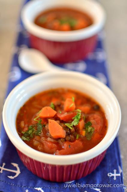 Grecka zupa z soczewicy Fakes