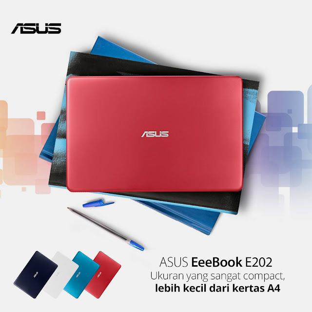 ASUS E202, Notebook Praktis Berkualitas Pasti