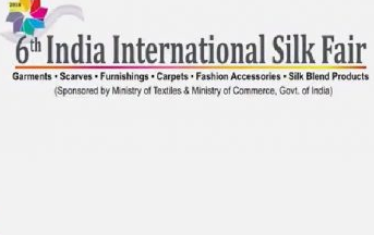 India International Silk Fair 2018 held in New Delhi