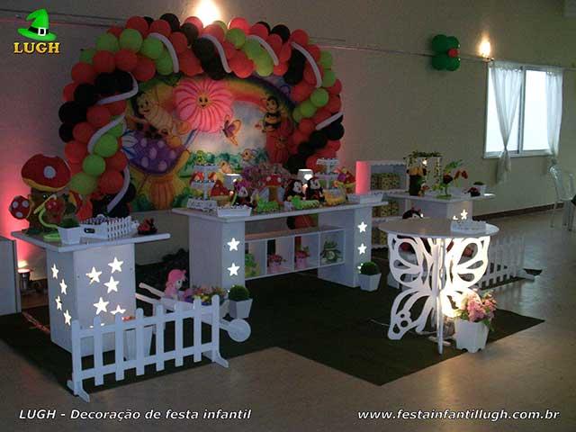 Decoração infantil tema Jardim Encantado - Provençal luxo