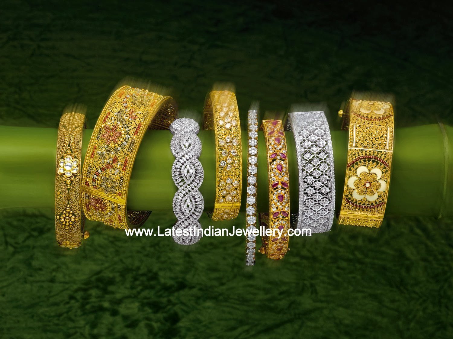 Latest Designer Bangles Collection