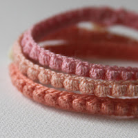 crochet patterns, crochet jewelry, crochet bracelets, Anne Butera, My Giant Strawberry