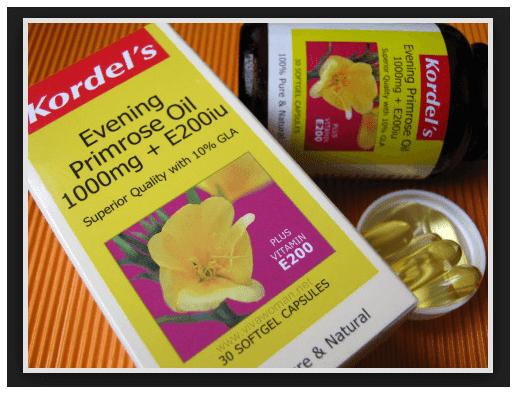 Evening primrose oil acne benefit