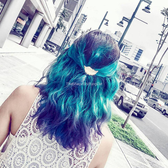 mermaid hair, dyed hair, alternative hair, manic panic