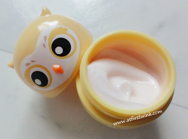 Etude House Missing U hand cream - I can fly no. 04 Eastern Glass Owl Peach Peach Peach scent