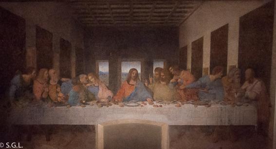 Leonardo Da Vinci y la ultima cena. Milan