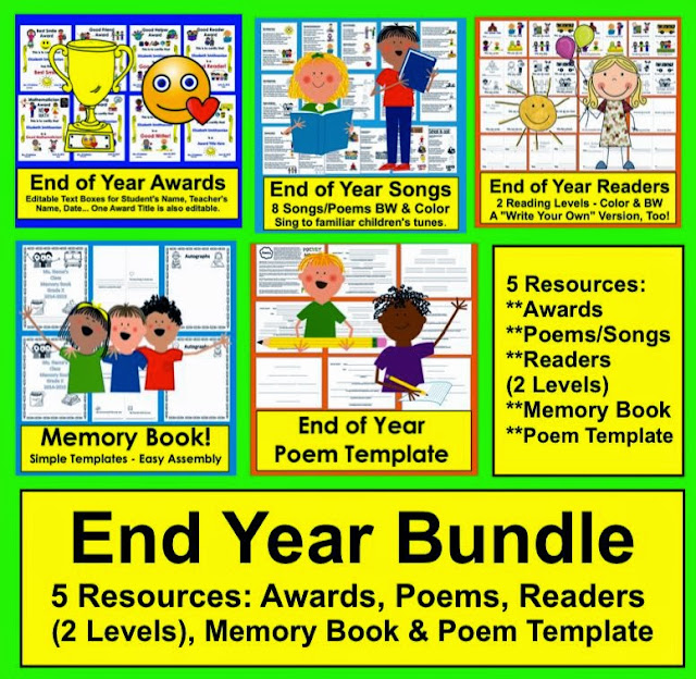 https://www.teacherspayteachers.com/Product/End-of-the-Year-Activities-692519
