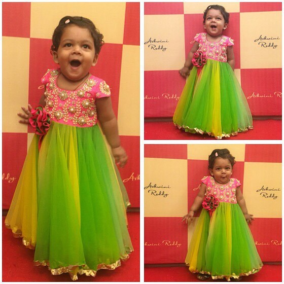 Cute Kid in Ashwini Reddy Frock