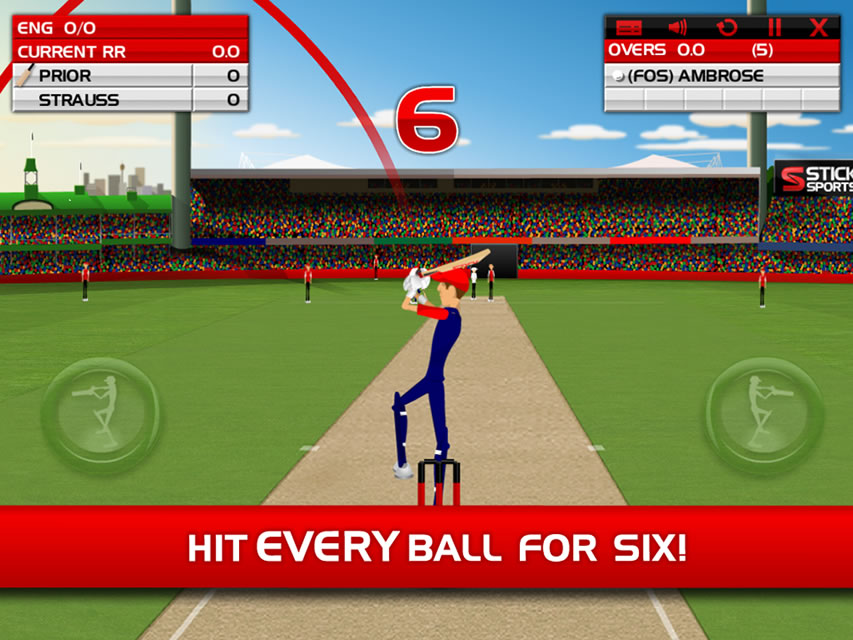 Stick Cricket Flash Game 7