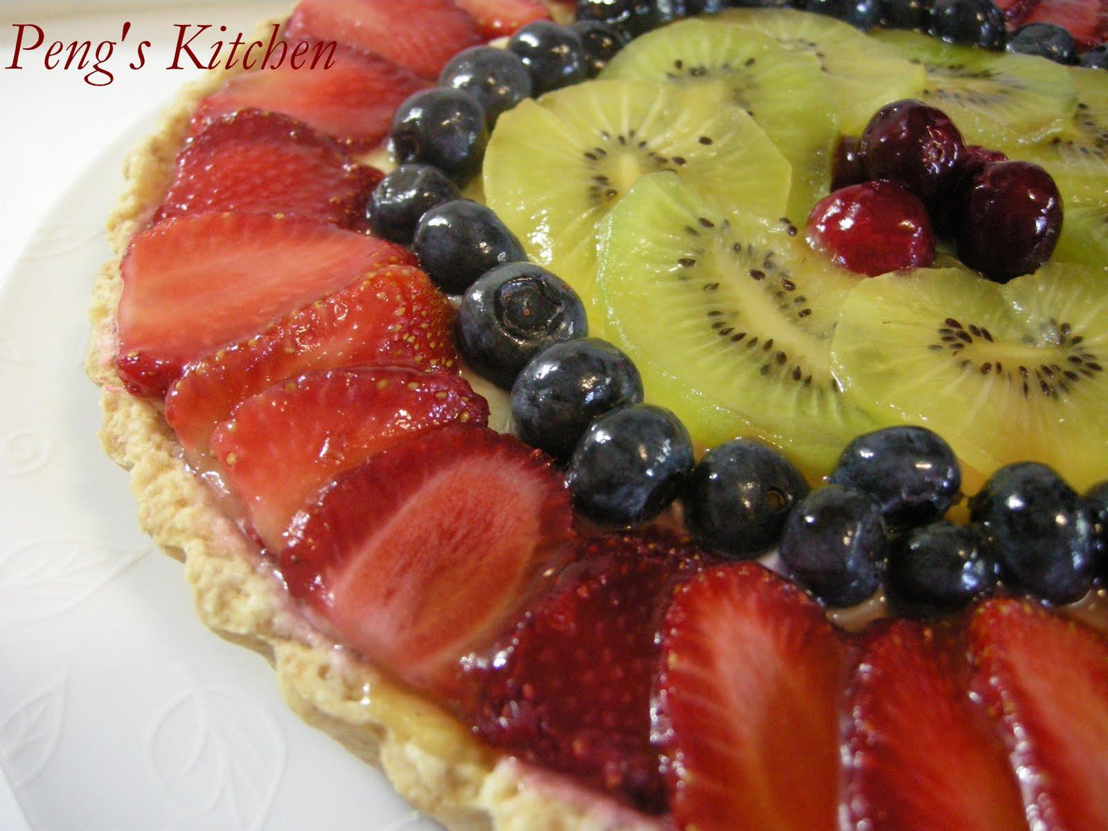 peng 39 s kitchen fresh fruit tart. Black Bedroom Furniture Sets. Home Design Ideas