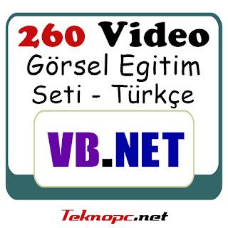 Vb.net Türkçe Görsel Eğitim Başlangıç