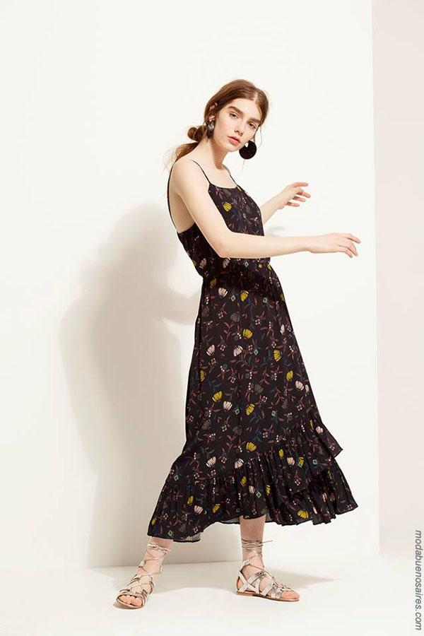 Vestidos 2018. Ropa de moda mujer primavera verano 2018.