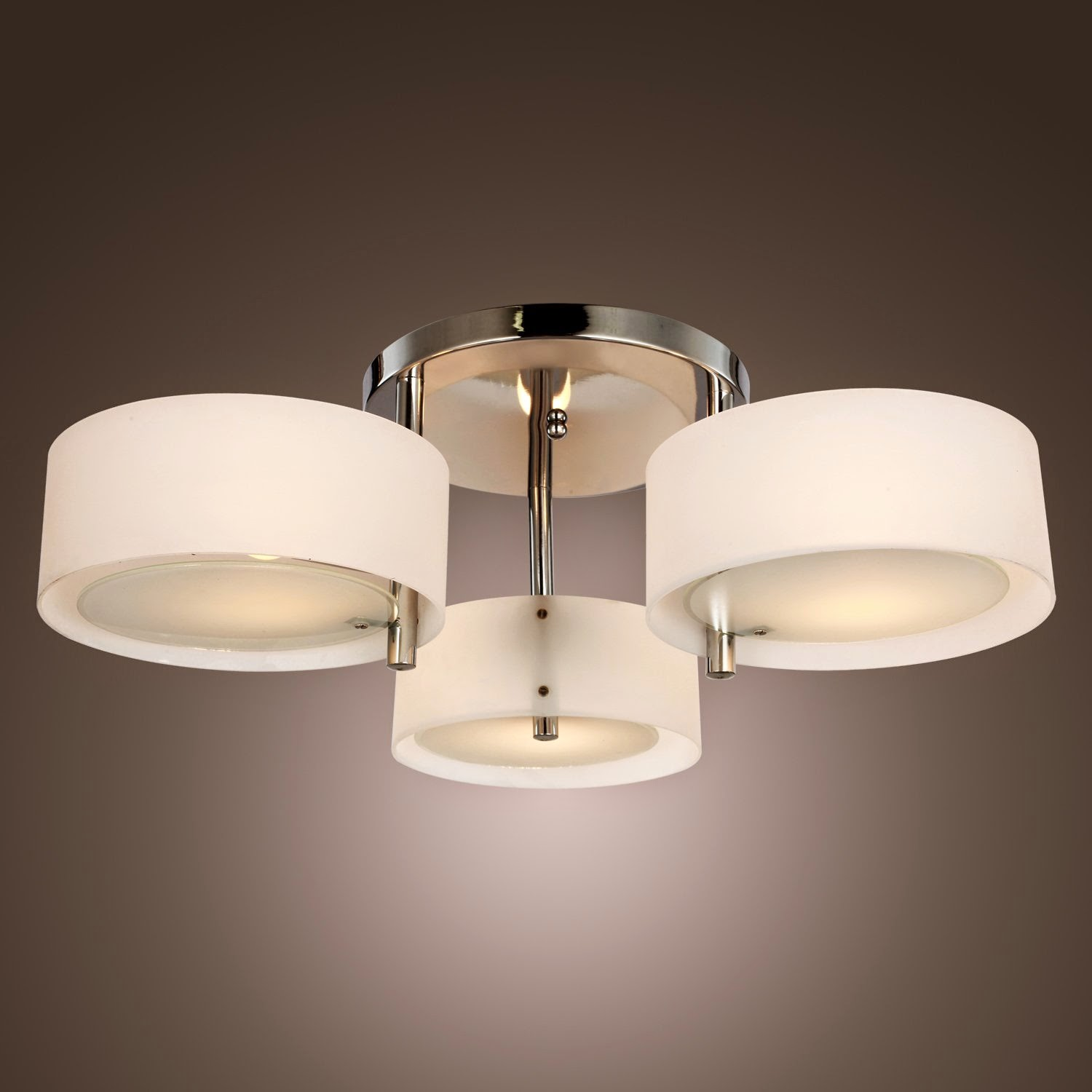 Ceiling Light Fixture with Outlet