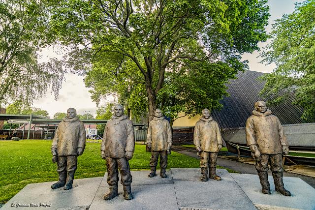 Amundsen y los descubridores del Polo Sur - Museo del Fram, Oslo por El Guisante Verde Project
