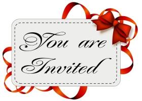 Picture of invitation card.