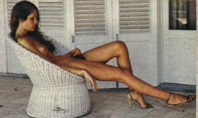 Caroline cossey nude