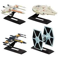 Conjunto de Veículos infantis Blackser Die Cast  Star Wars - Episódio VII da Hasbro