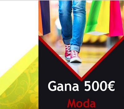 sorteo 500 euros en moda