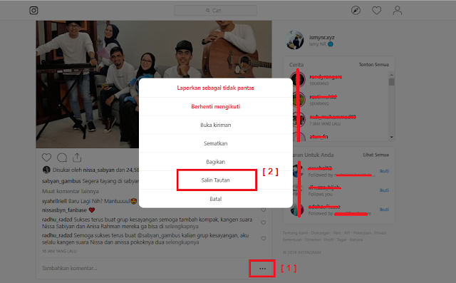 Cara download foto / video instagram di pc / laptop tanpa aplikasi