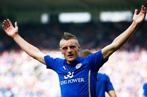 Cầu thủ Vardy tỏa sáng tại các trận đấu của mùa giải