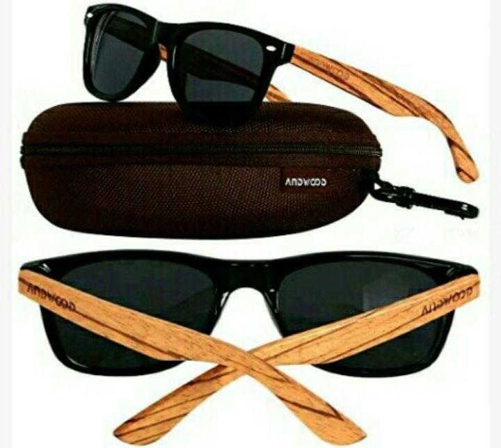 Andwood Bamboo Sunglasses - Polarized Wooden Sunshades